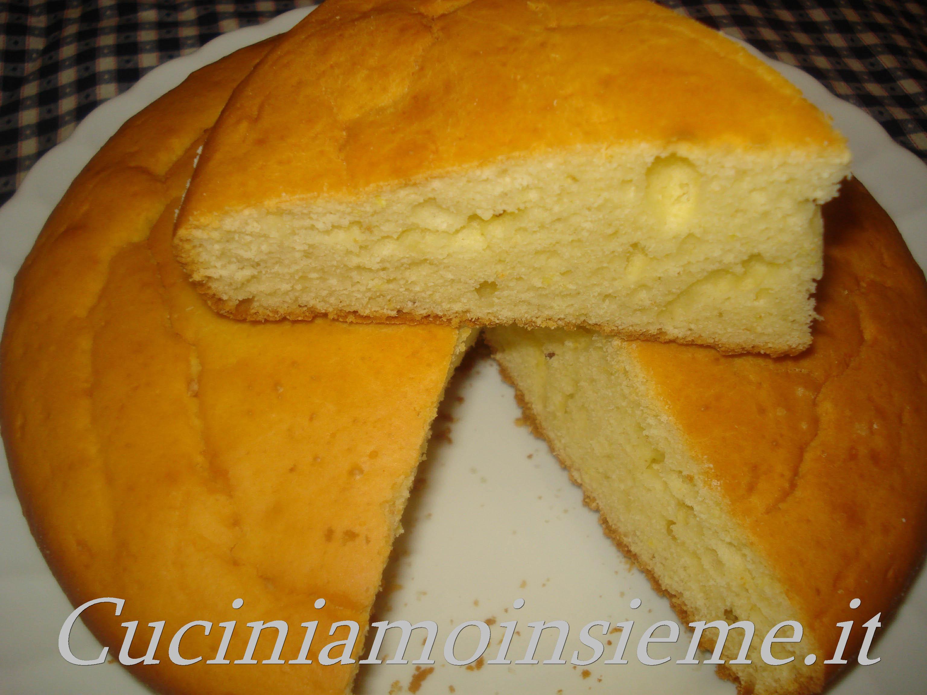 pan di spagna adatto per menu dietetici dissociati